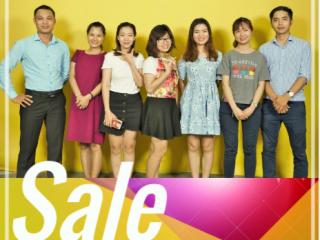 [Yêu những điều nhỏ nhất] Team Sale